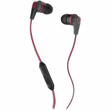 SkullCandy Ink'd 2.0 Handsfree Earbuds with In Line Mic and 3.5mm Jack - Red/Black