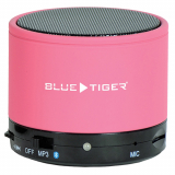 Blue Tiger SoundPODS Bluetooth Portable Speaker - Dark Pink