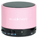 Blue Tiger SoundPODS Bluetooth Portable Speaker - Light Pink