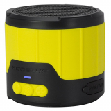 Scosche BoomBOTTLE Mini Rugged Weatherproof Bluetooth Speaker - Yellow