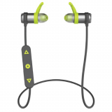 PureGear PureBoom Handsfree Bluetooth Earbuds - Black/Green