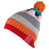 Caseco Bluetooth Beanie with Built-In Headphones - Pom-Pom Fall Colors