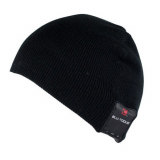 Caseco Bluetooth Beanie with Built-In Headphones - Everyday Style Black