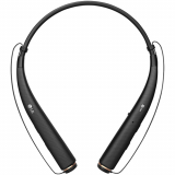 LG Tone Pro HBS-780 Handsfree Bluetooth Headset - Black