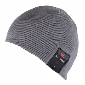 Caseco Bluetooth Beanie with Built-In Headphones - Slim Gray
