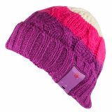 Caseco Bluetooth Beanie with Built-In Headphones - Orchid