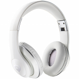 Ncredible1 Handsfree Bluetooth Over-the-Ear Headphones - White