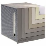 Rockstone Audio Wave LED Handsfree Bluetooth Light Up Speaker - Grey
