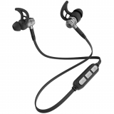 Ghostek Fuze Handsfree Bluetooth and 3.5mm Jack Earbuds Black/Grey