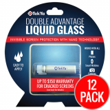 <b>*12 Pack*</b> TekYa Double Advantage Universal Screen Protector Liquid Glass ($150 Coverage)