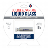 TekYa Double Advantage Universal Screen Protector - Liquid Glass ($150 Coverage)