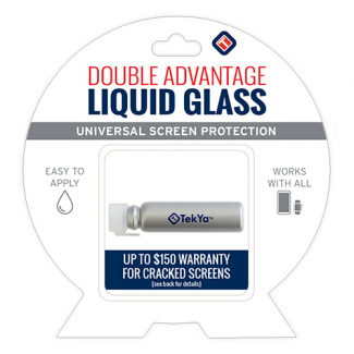 TekYa Double Advantage Universal Screen Protector - Liquid Glass