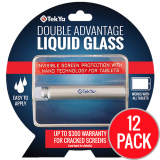 <b>*12 Pack*</b> TekYa Double Advantage Screen Protector - Liquid Glass for Tablets ($300 Coverage)
