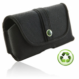 EcoLife Nylon Horizontal Pouch With Magnetic Closure - Large