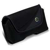 EcoLife Horizontal Nylon Pouch with Magnetic Closure - Small