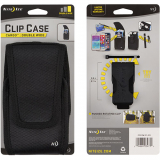 Nite Ize Vertical Black Clip Case Cargo Velcro Closure - Double Wide