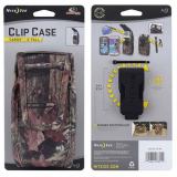 Nite Ize Nylon Vertical Extra Tall Clip Case Cargo Pouch with Velcro Closure - Mossy Oak