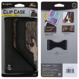 Nite Ize Nylon Horizontal Clip Case Velcro Closure Pouch - Mossy Oak