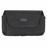 Extra Large (XL) TekYa Tough Tek Black Horizontal Pouch with Magnetic Closure