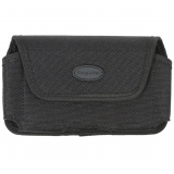 Extra Extra Large (XXL) TekYa Tough Tek Black Horizontal Pouch with Magnetic Closure