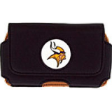 NFL Officially Licensed Minnesota Vikings Pouch With Magnetic Closure - Medium
