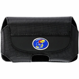 NCAA Officially Licensed Kansas Jayhawks Pouch With Magnetic Closure - Medium