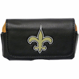 NFL Officially Licensed NO Saints Pouch With Magnetic Closure - Medium