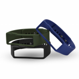 Universal Nuband Activ+ 3 Pack Replacement Bands - Black/Blue/Green