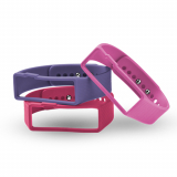 Universal Nuband Activ+ 3 Pack Replacement Bands - Purple/Pink/Red