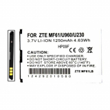 ZTE MF61 Standard Replacement Battery
