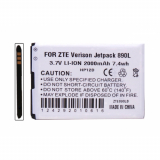 ZTE JetPack 4G LTE 890L Standard Replacement Battery 2000mAh