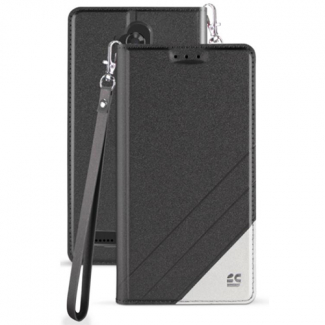 ZTE Blade Max 3 Beyond Cell Infolio C Series Leather Case - Black/White